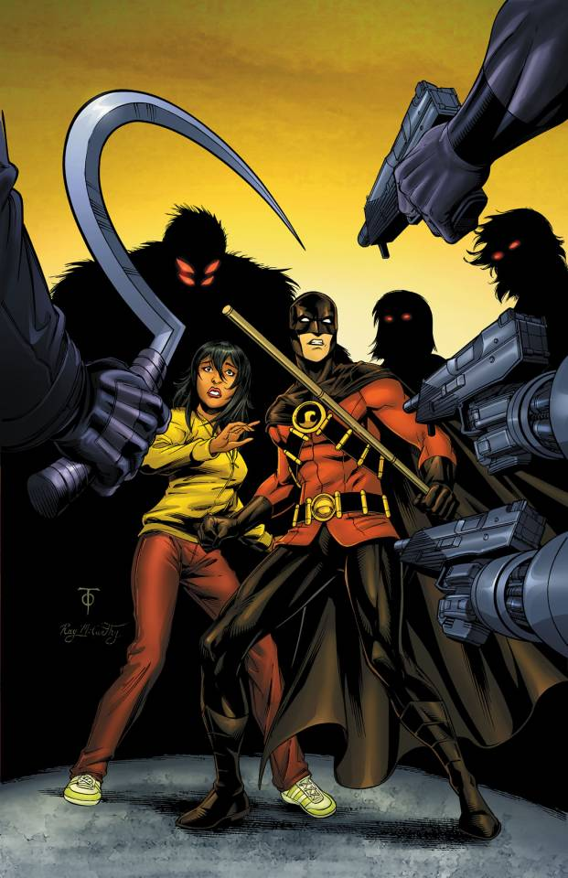 Cover art of the team vs Red Robin