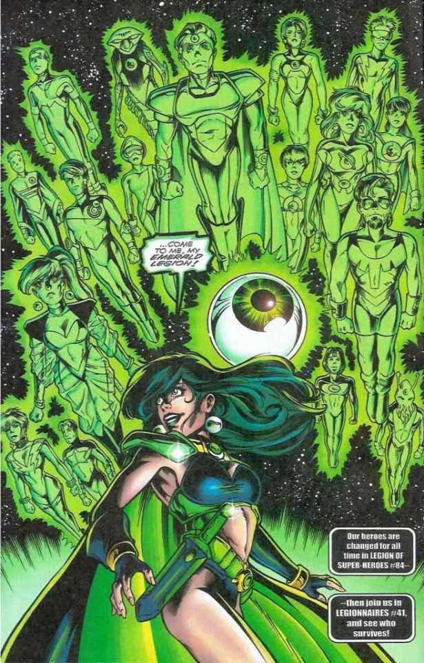 Salu Digby as Emerald Violet (Earth-247)