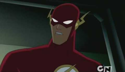 Wally West as The Flash in JL and JLU
