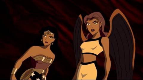 Hawkgirl returns in Justice League Unlimited
