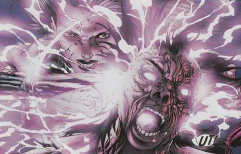 Psylocke kills Matsuo