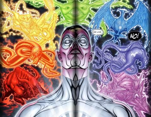 Sinestro the white