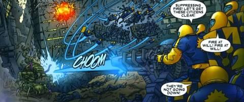 The Nova Corps Are Overrun
