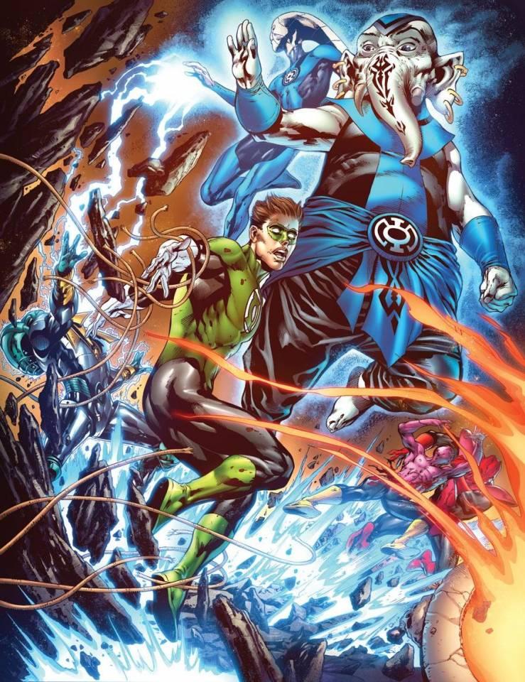 The first Blue Lanterns
