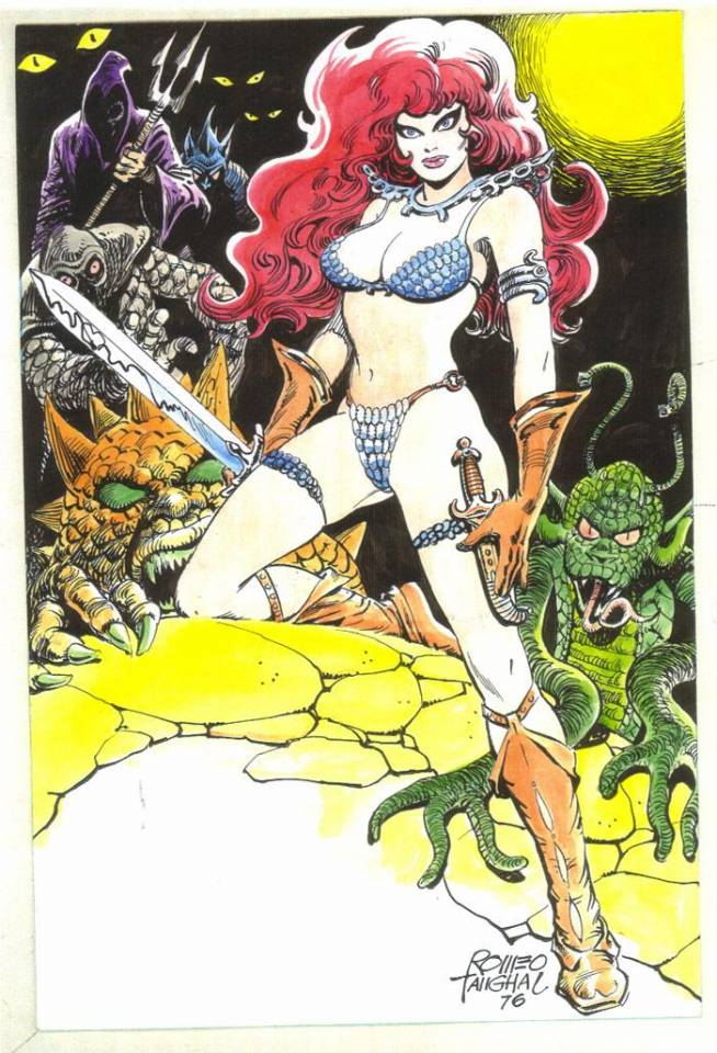 Tanghal`s Red Sonja