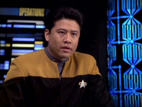 Operations Officer, Ensign Harry Kim