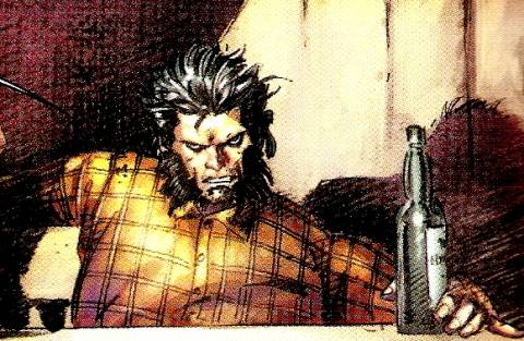 An uncanny resemblance to Wolverine