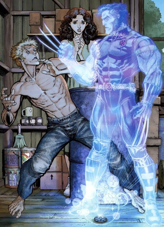 The Wolverine hologram reveals Jimmy's origin