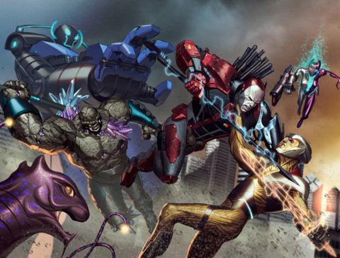 X-O Manowar VS. Armor Hunters
