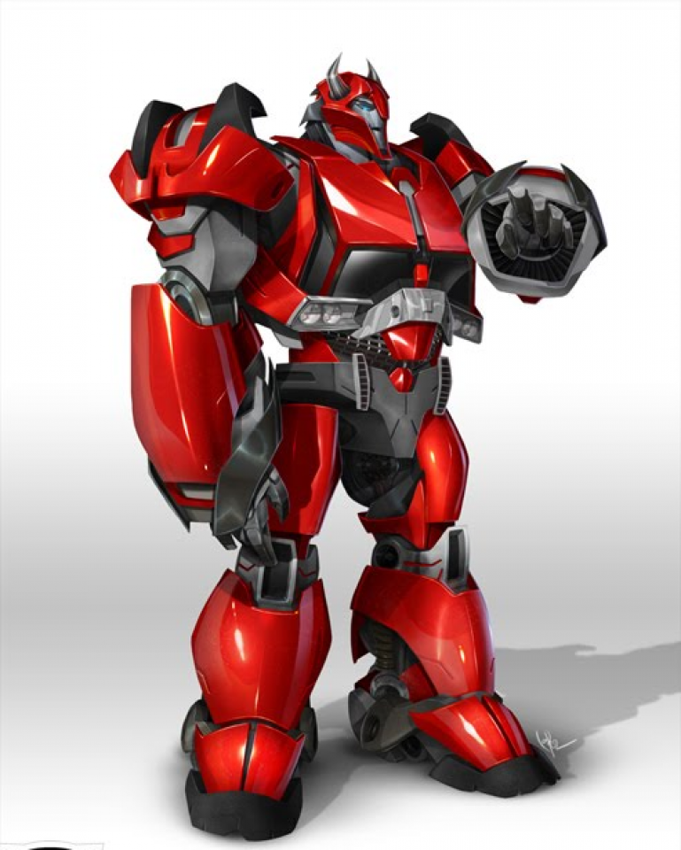 Cliffjumper as he appears in Transformers: Prime