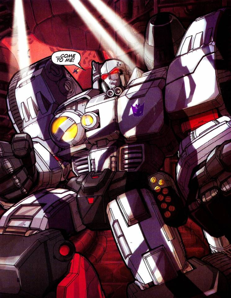 Megatron in his Cybertronian mode