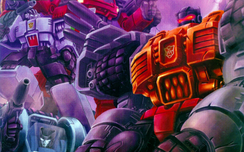 Grimlock in his Cybertronian mode