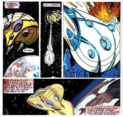 Panel 1 & 2: Action Comics #651 - Panel 3: JLA #63 - Panel 4: Action Comics #690