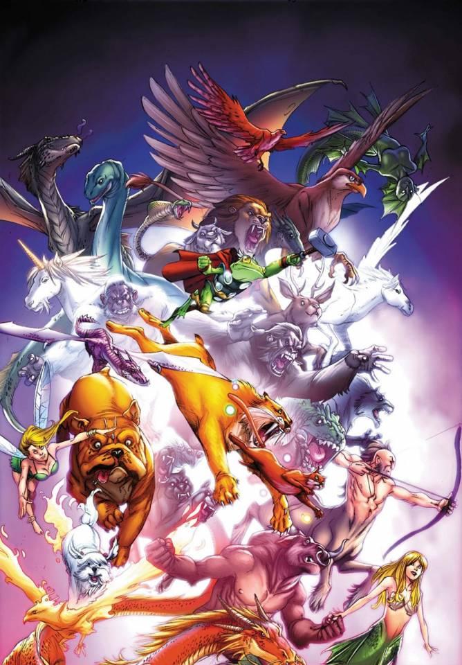 Lockjaw & the Pet Avengers