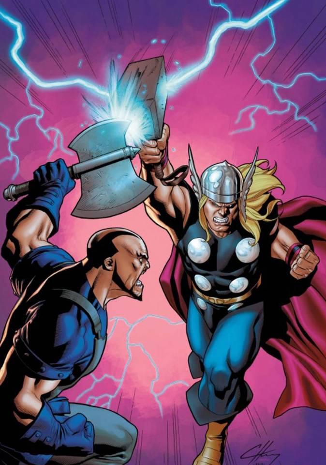 Thor vs Skurge