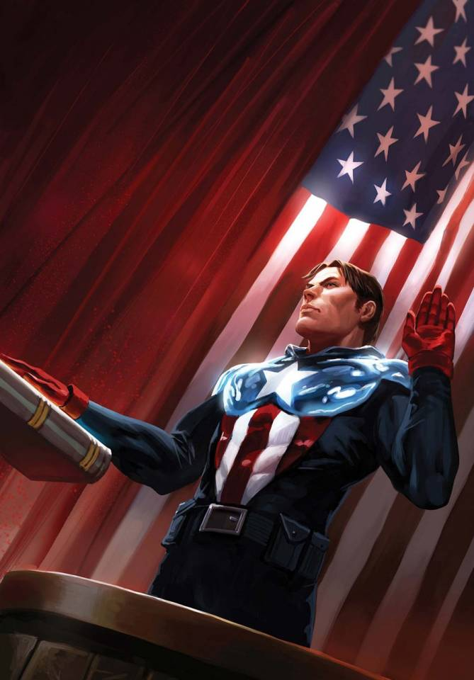 The Trial of Captain America Begins
