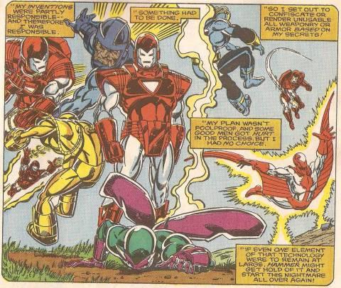 Tony's Armor Wars