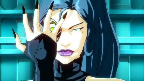 Lucia in the Fantastic Four cartoon