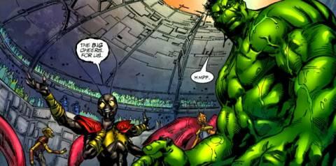 Cheers for Miek and Hulk