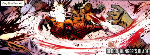 Blood-Hunger's Blade
