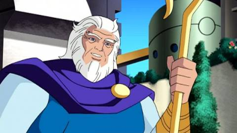 The animated Highfather