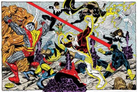 Alpha Flight vs X-Men