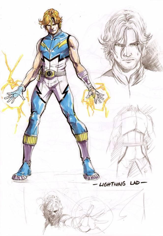 Lightning Lad (New Earth)