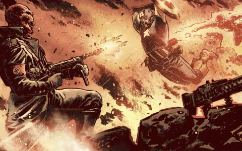 After Captain America's creation, it was bound that both Red Skull and Captain America would meet in their climatic battle that would only set a long and enduring battle between both men.