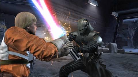 Luke vs. Starkiller