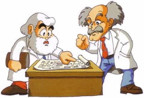 Dr. Light & Dr. Wily