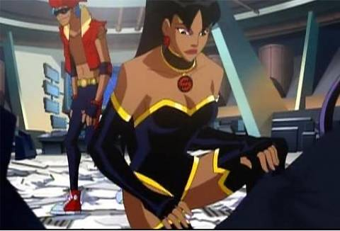 Superwoman in Justice League: Crisis on Two Earths.