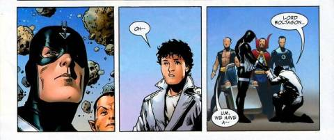 The Beyonder bows to his King.