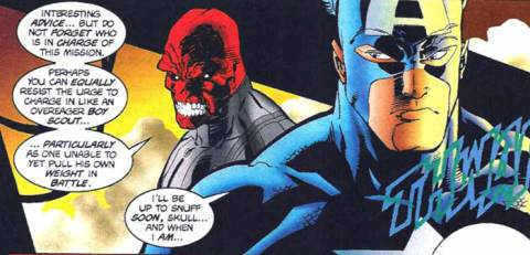 Upon learning of a greater threat, Red Skull and Captain America found themselves allied to stop Hitler's return.