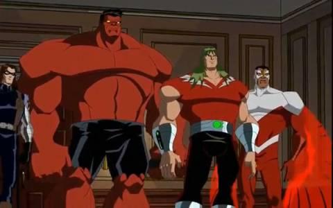Red Hulk in EMH
