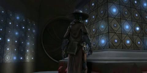 Bane enters the Holocron Vaults