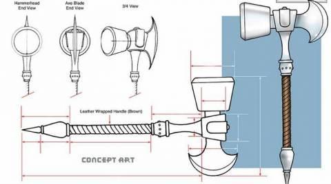 Ultimate Mjolnir design.