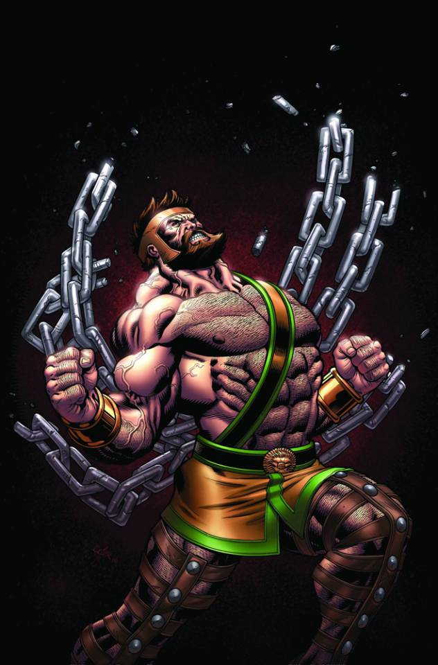 The superhuman strength of Hercules