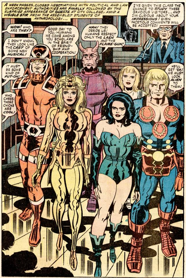 The Eternals: Revealed to the World!