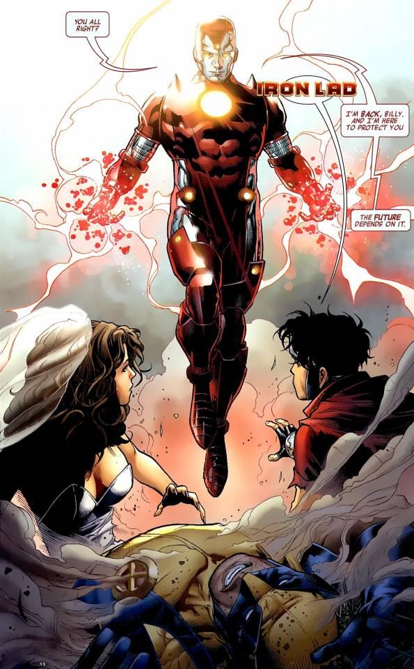 Iron Lad returns