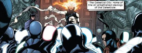 Xorn and The Celestials of Earth-1610 (Ultimate Universe)