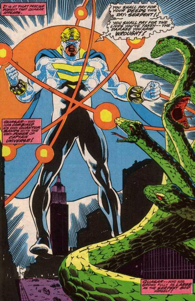 Set faces off against the composite Captain Universe entity.