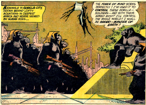 Gorilla City's first appearance.