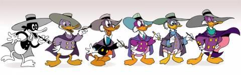 Evolution of Darkwing Duck!