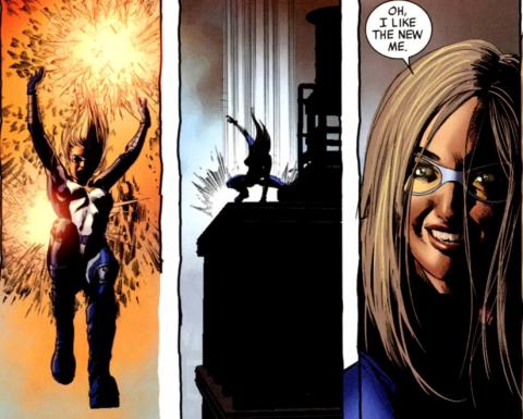 Bobbi gains super powers