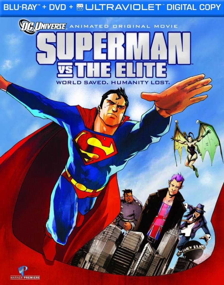 Official Cover For Superman Vs. The Elite Combo Pack