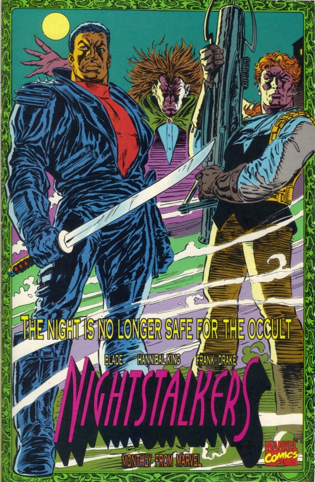 A still of the Nightstalers comic