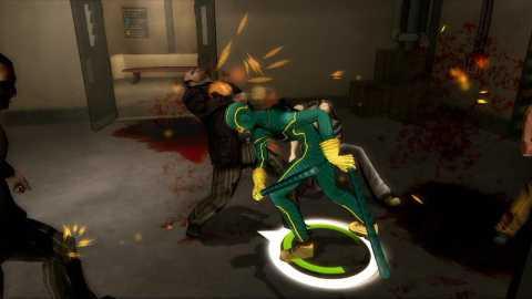 Kick-Ass in the Kick-Ass video game
