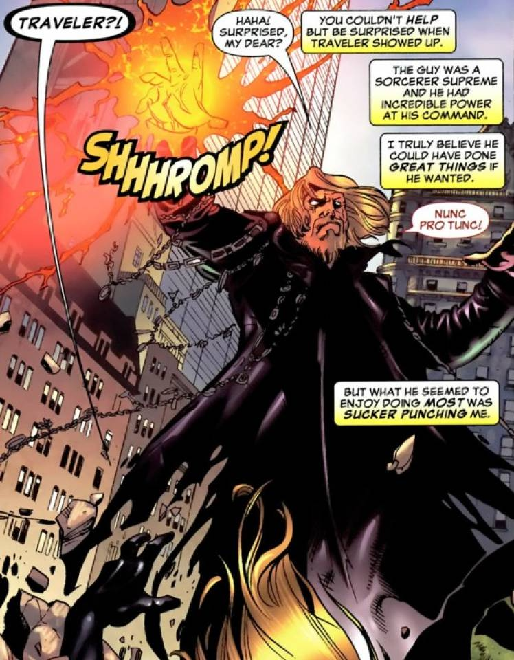 Traveler as he appears in the House of M