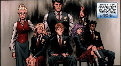 Emma Frost and The Hellions