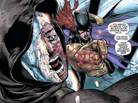 Batgirl vs. Mirror
